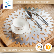Household custom design handmade coffee cup table mats for dinner party