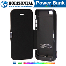 QQPOW For iphone 5c back cover housing replacem battery charger case for iphone 5 ,wallet battery cases for iphone 5s
