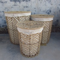 Hot Wire Laundry Baskets Iron Baskets