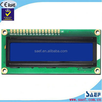Character lcd Module Display 16*2 Dots mono lcd dispaly from china