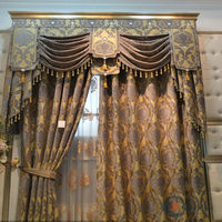 china wholesale ready made curtain,ready made linen window curtain