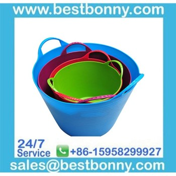 Cheap Wholesale garden rubber bucket