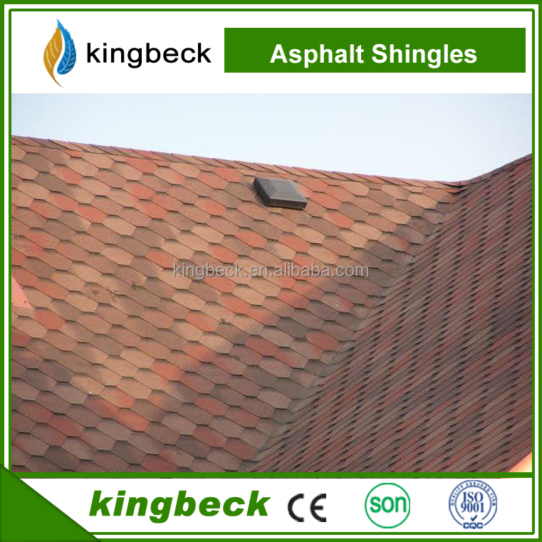 Galvanized Roof Material Types Tiles Cover cheap Asphalt Shingles roofing