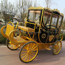 Electric vehicle 2000W motor electric royal carriage for sale