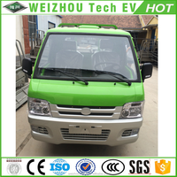 Electric Cargo Truck With 4 Seats
