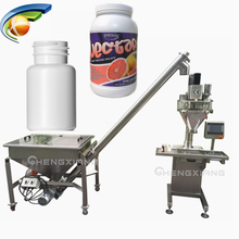 Semi-automatic Auger powder filler or Filling machine