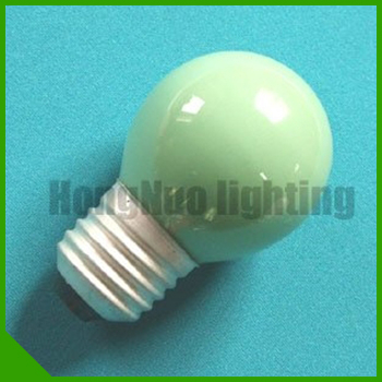 2015 New Design Ball Type G35 Frosted Led Color Bulb For Sale