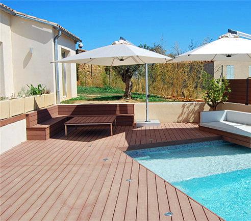 Wood Plastic Composite Swimming Pool Decking/wpc Swimming Pool Cover - Buy  Swimming Pool Cover,Swimming Pool Decking,Wpc Swimming Pool Decking Product  ...