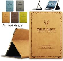 Case for iPad Air 1 2 Tablet Case Ultra Slim Flip PU Leather Case for iPad