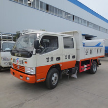China factory sale cheap DONGFENG two row 4*2 4ton small tipper truck
