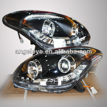 For TOYOTA MYVI LED Head Lamp Angel Eyes 2010 year