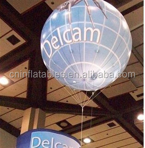 advertising fully surface printed inflatable helium balloon / inflatable exhibition sphere