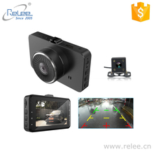 3INCH wide screen car cam camera recorder FHD 1080P car driving dash cam with dual lens