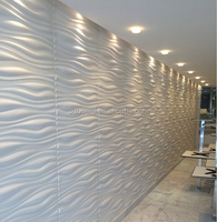 Hot sale embossed effect decorative 3d wall panel prefabricated wall panels 3d wallpaper