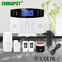 Economic 7 Wired & 99 Wireless Zone home alarm gsm siren with lcd indicator PST-GA997CQN