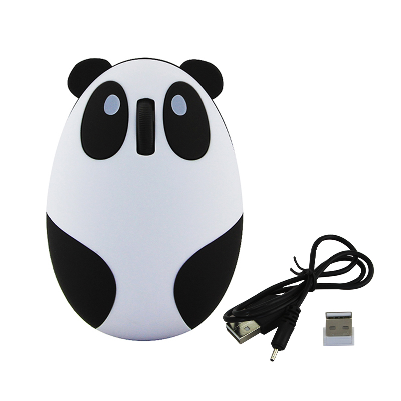 Mouse gift Panda shaped optical usb optical gaming mouse wireless