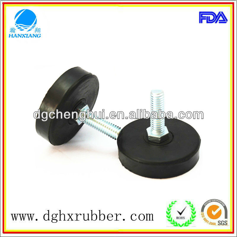Dongguan industry produce sport equipment, home appliance/top of rubber for chairs/top of rubber for chairs