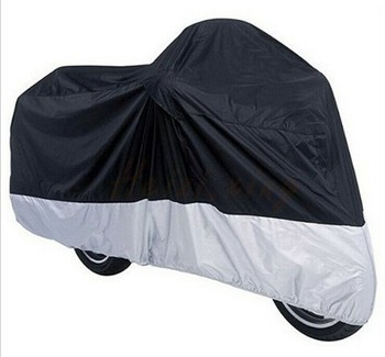 High Quality 190T Waterproof  All Weather Protection Motorcycle Cover