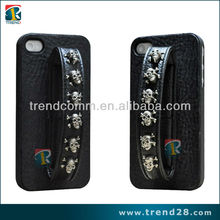 rock style leather case for iphone5