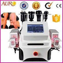 AU-62 new style double vacuum 14 laser slim cavitation training slimming