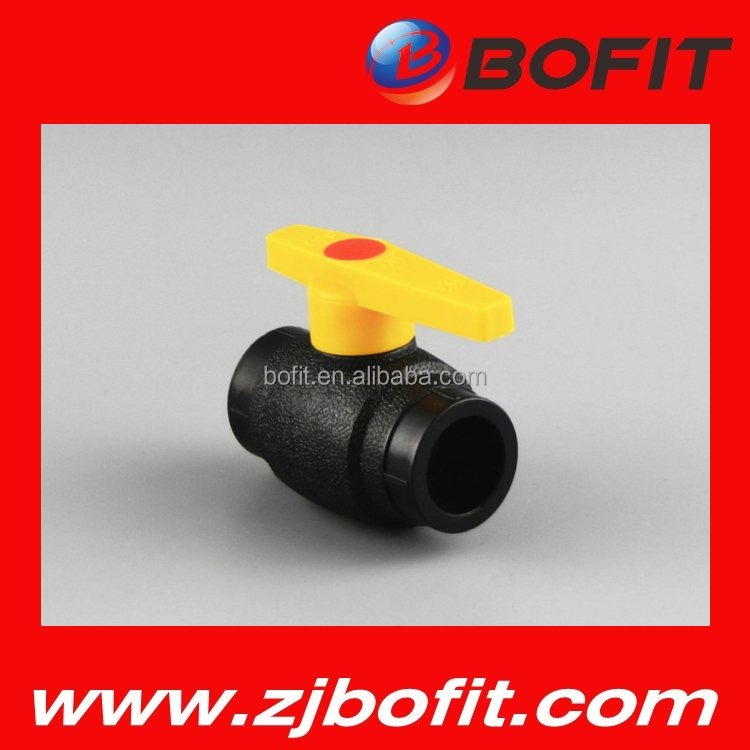 Bottom price pe pipe ball valve for water use