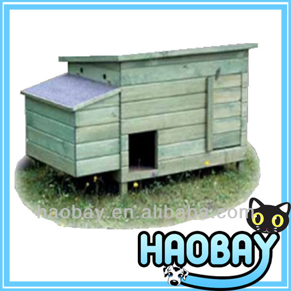 Animal Shaped China Fir Wooden Chicken Breeding Coop Cage