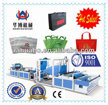 Ruian trustworthy non woven fabric box type bag making machine with best price