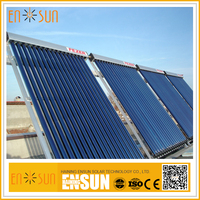 Factory made outdoor pool solar heating collectors