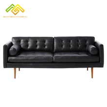 Luxury home <strong>furniture</strong> living room genuine leather sofa set
