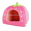 Pink color small dog house