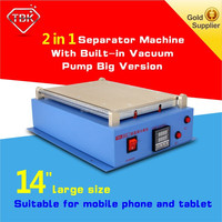 LCD Separator Machine /Auto Seperator to Repair /Split /Refurbish Glass Touch Screen free oca optical adhesive