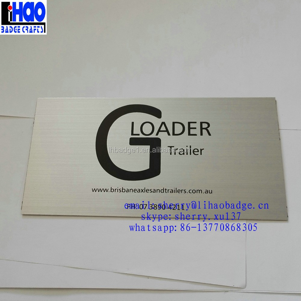 personalized metal business brushed card,cheap aluminum business card