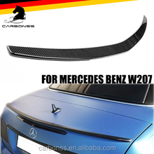 Carbon Fiber 2010-2016 For Mercedes Benz C207 W207 Trunk Boot Lip Spoiler AMG Type