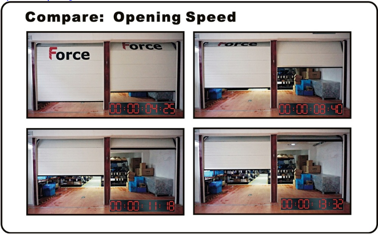 garage door opener manual release