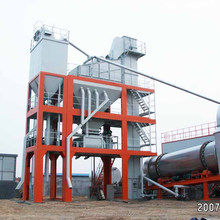 Construction machinery LB500 hot asphalt mixer plant for road building