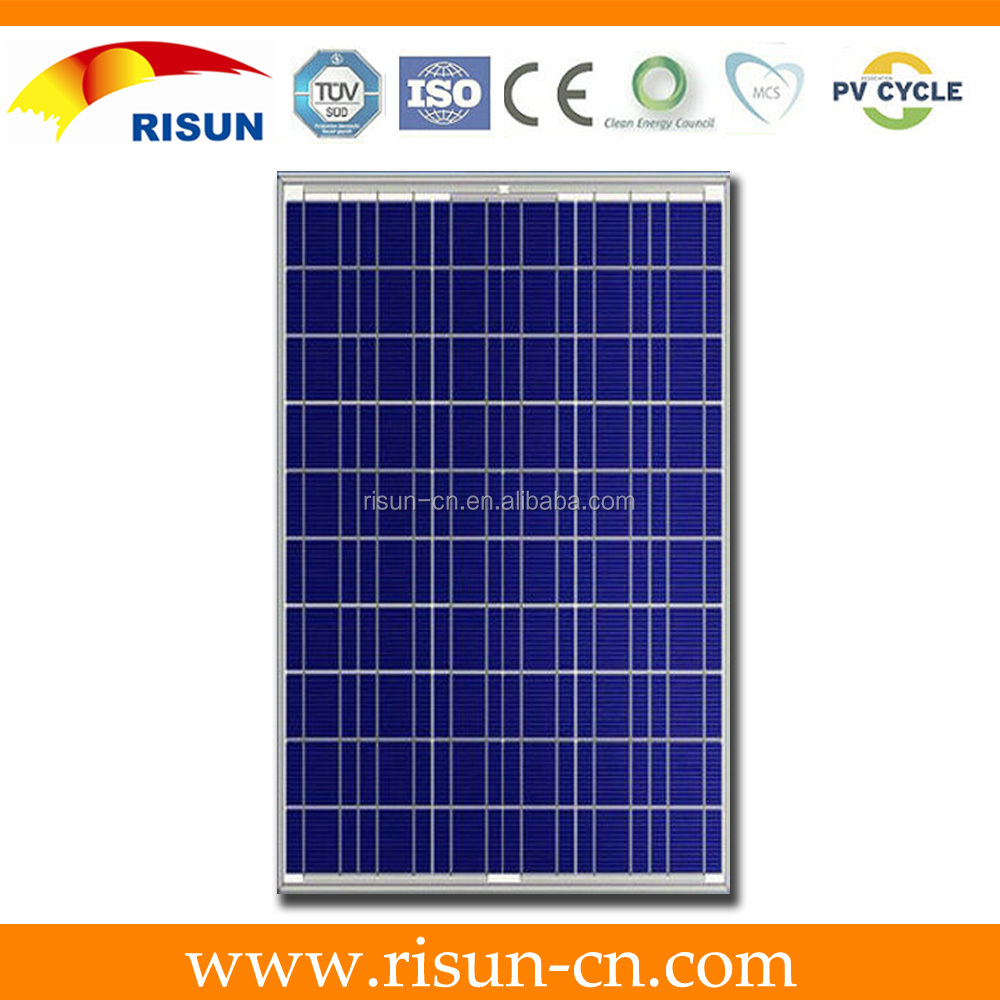 Factory direct sale PV panel 120W Poly home Solar Panel in China with low price