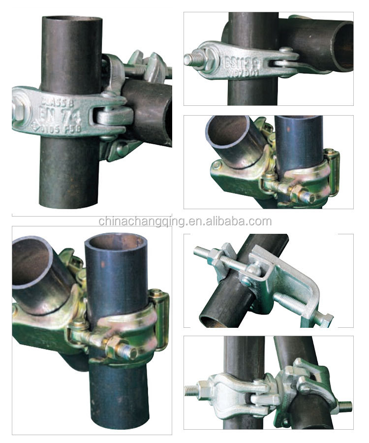 Best selling scaffolding pipe coupler pressed putlog coupler
