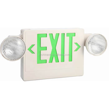 ET-100 combo LED rechargeable exit sign ul 924