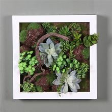 High end superior quality wholesale 3d wall art plants decorations frame