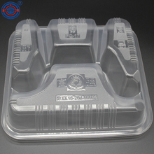 transparent large cheap transparent hard plastic biodegradable take away boxes