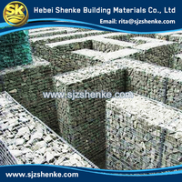 hexagonal wire mesh and welded wire mesh gabion box stone cage