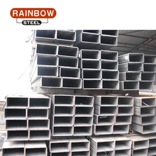 hollow steel rectangular beam drainage tubing dimensions