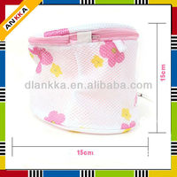 Foldable Polyester bra washing laundry bag for washing machine