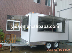 Yieson High Quality food cart /mobile restaurant truck YS-FB390