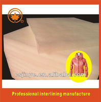 soft material polyester filler for apparel