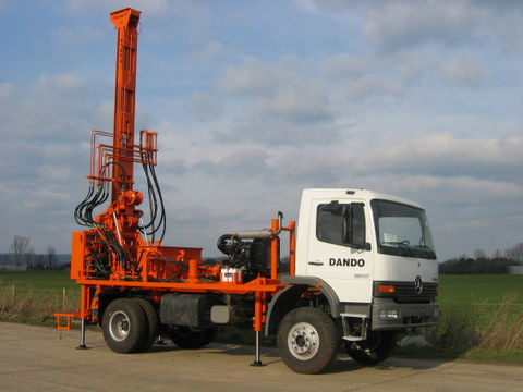Watertec 6 Lightweight High Performance Rotary Drilling Rig
