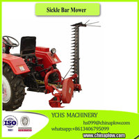 Agricultural equipment sickle bar mower