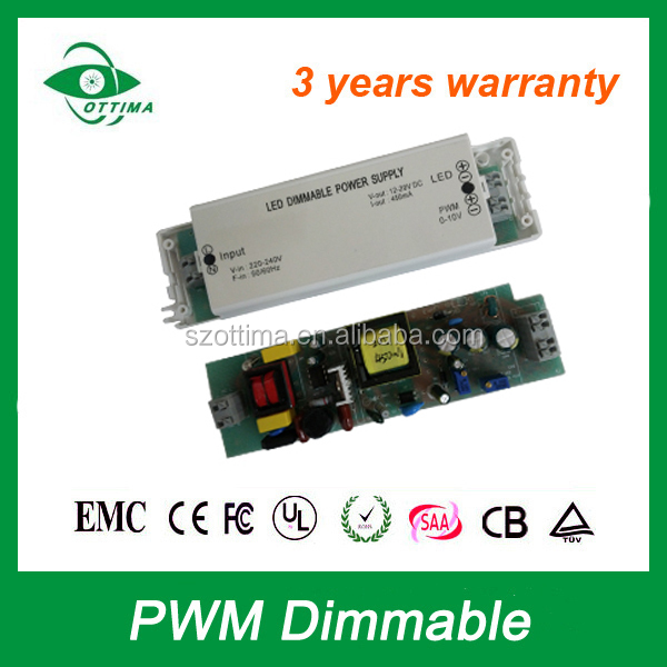 Best IP20 1000mA PWM 0-10v constant current dimmable led driver