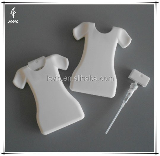 Atomizer 28ml T-shirt shape Perfume Bottle