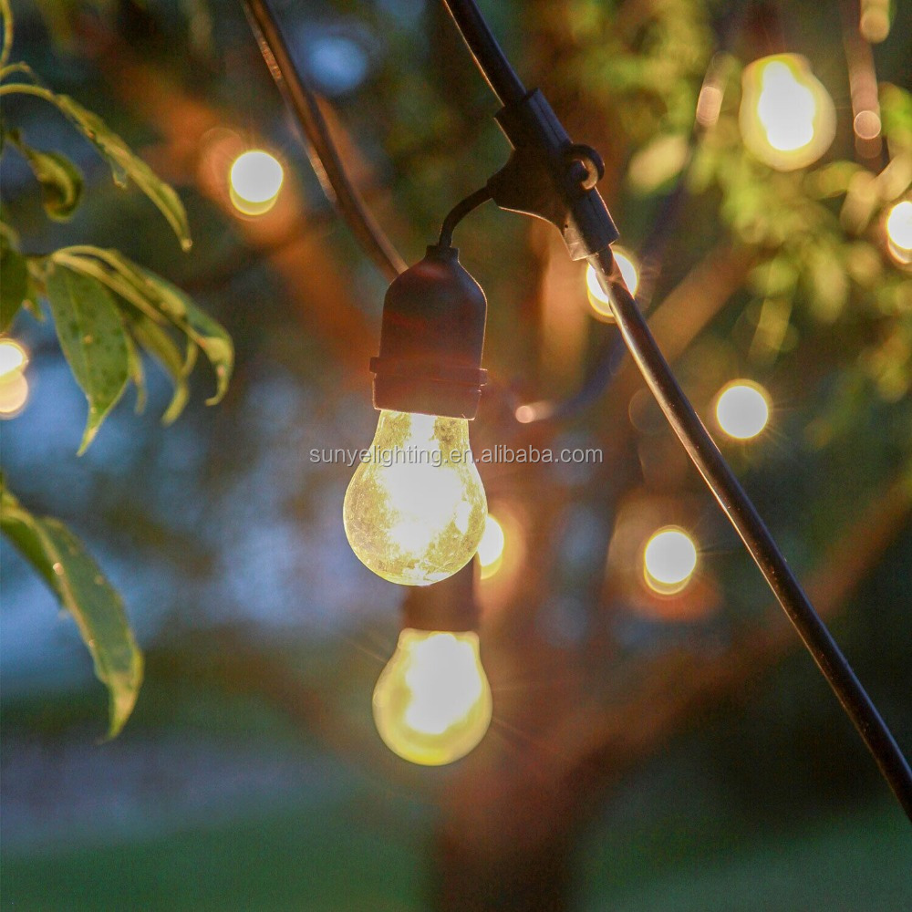 Outdoor&indoor Decorative String Light With Clear S14 Or Led Bulb - Buy String Light,Outdoor ...